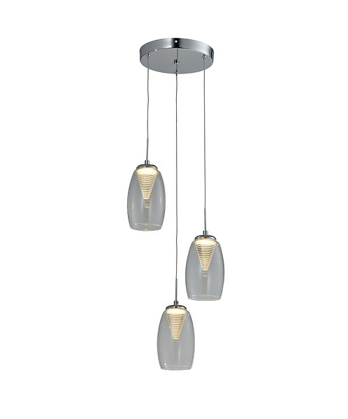 CONICAL 3lt Round Pendant