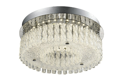 PRISM Medium Flush Ceiling Light