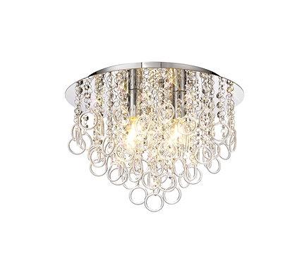 LUNA 4lt Flush Ceiling Light