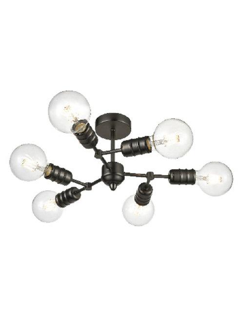 IMPERIAL 6lt Semi-Flush Ceiling Light
