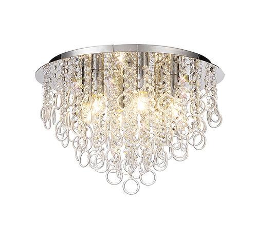 LUNA 6lt Flush Ceiling Light