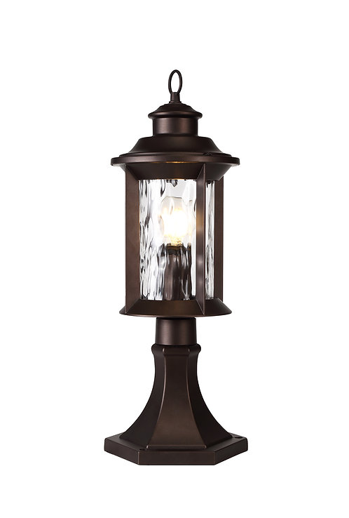 ELAINE 1lt Outdoor Pedestal Light