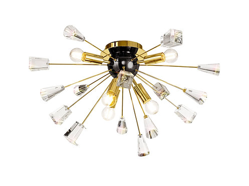 RANDOLF 6lt Flush Ceiling Light