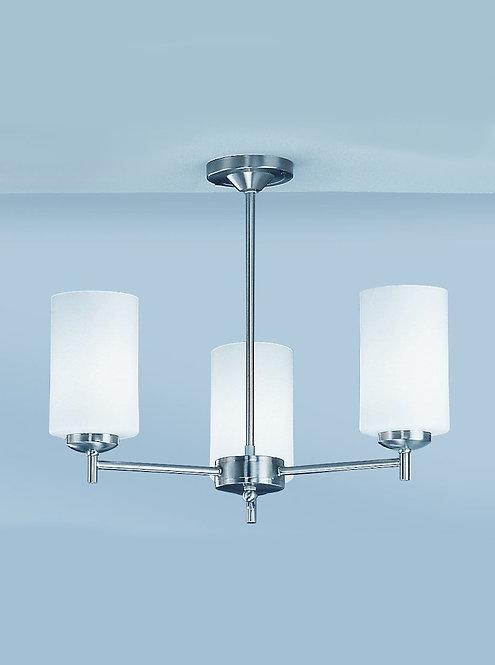 DAWN 3lt Semi-Flush Ceiling Light