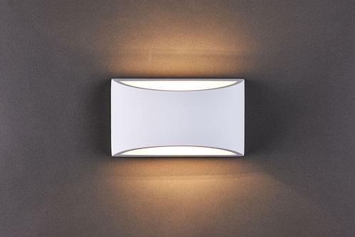 STUCCO 1lt Wall Light
