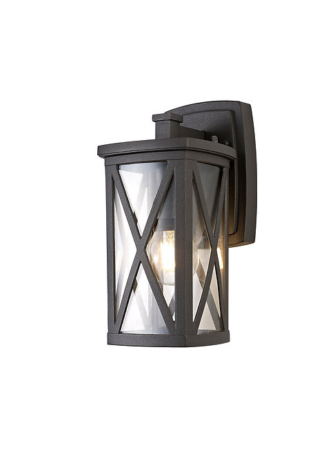 BRIAN 1lt Outdoor Wall Light