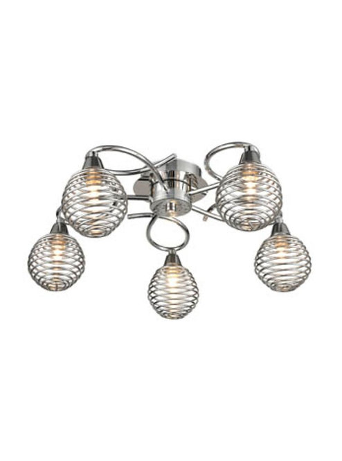 SPRING 5lt Semi-Flush Ceiling Light