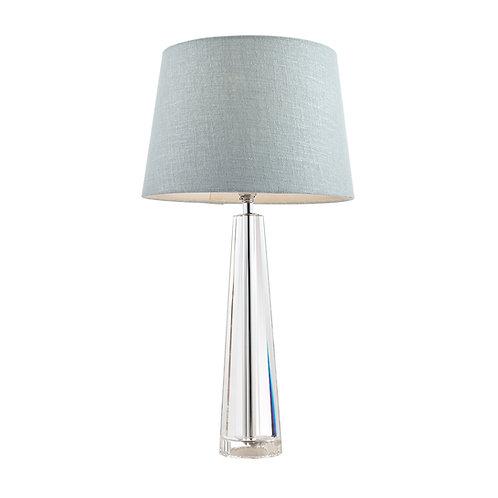 Laura Ashley Blake Cut Glass Crystal Obelisk Table Lamp Base