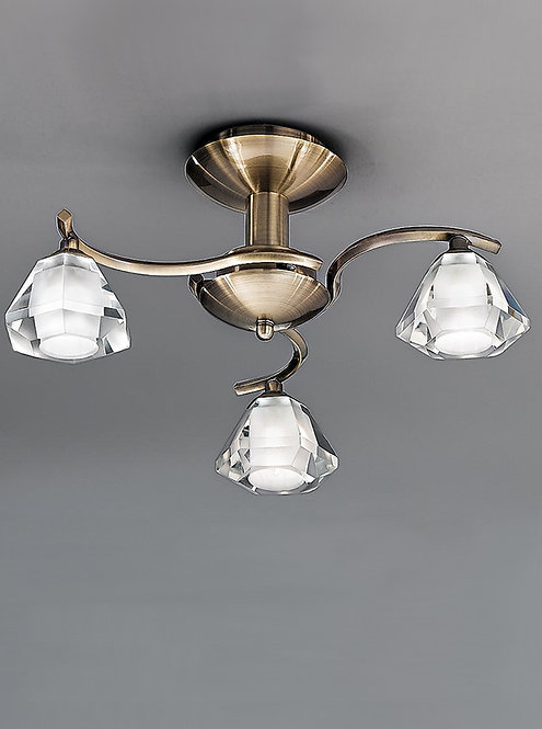THEO 3lt Semi-Flush Ceiling Light