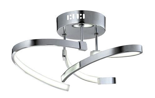 SIRRUS 3lt Semi-Flush Ceiling Light