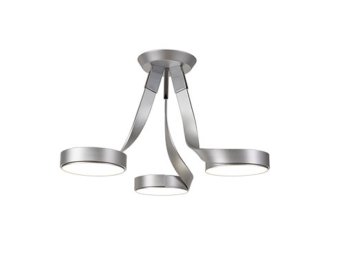 TWISTER 3lt Semi-Flush Ceiling Light
