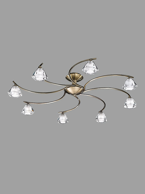 THEO 8lt Semi-Flush Ceiling Light