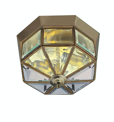 2lt Flush Ceiling Light