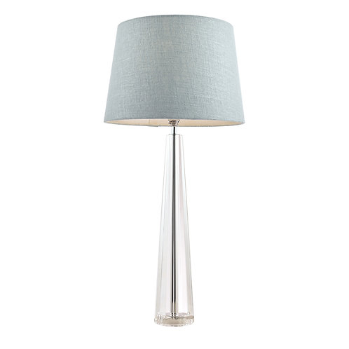 Laura Ashley Blake Cut Glass Crystal Obelisk Table Lamp Base Extra-Large