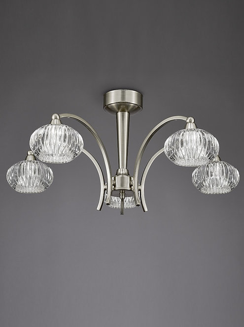 RIVER 5lt Semi-Flush Ceiling Light