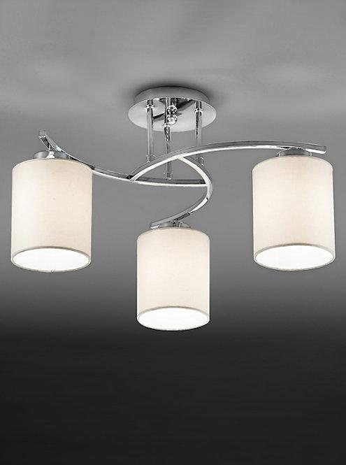 LYNN 3lt Semi-Flush Ceiling Light