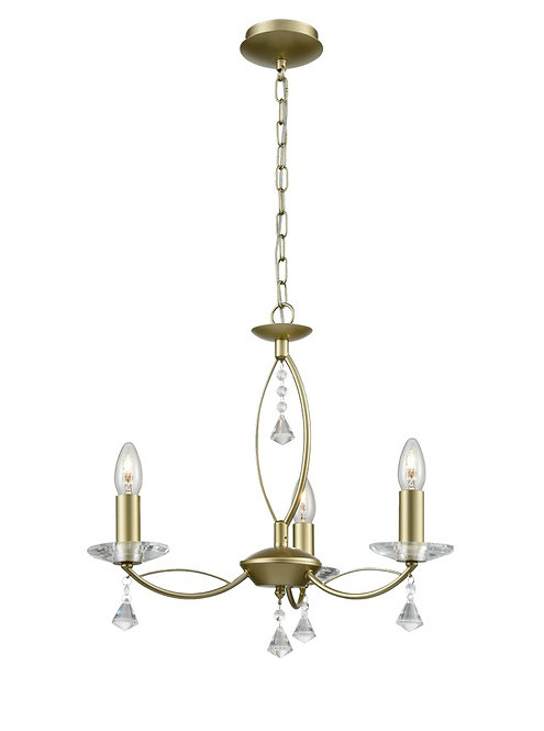MALTA 3lt Pendant / Semi-Flush Ceiling Light