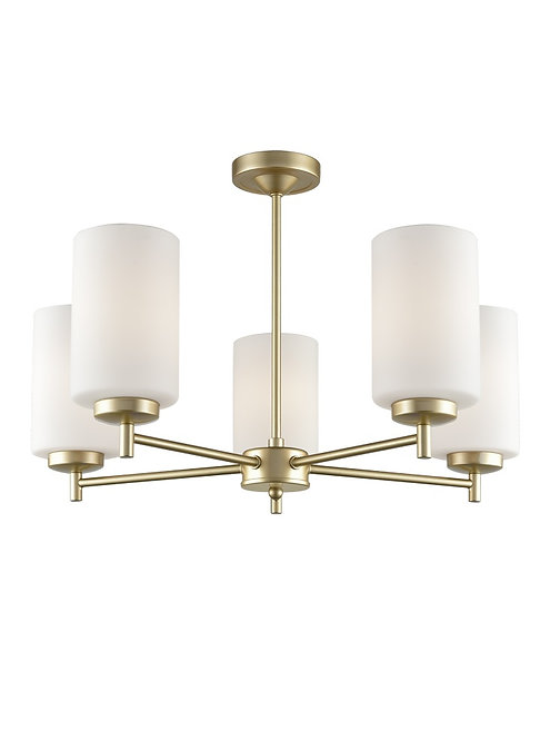 DAWN 5lt Semi-Flush Ceiling Light
