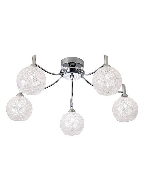 CECILIA 5lt Semi-Flush Ceiling Light