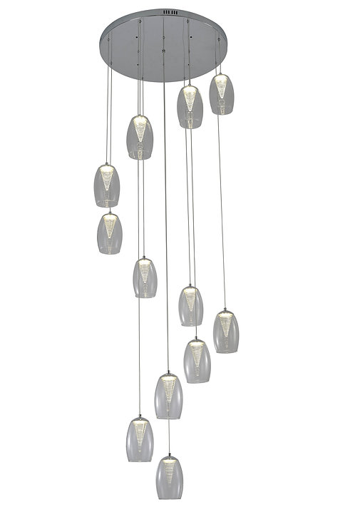 CONICAL 12lt Round Pendant