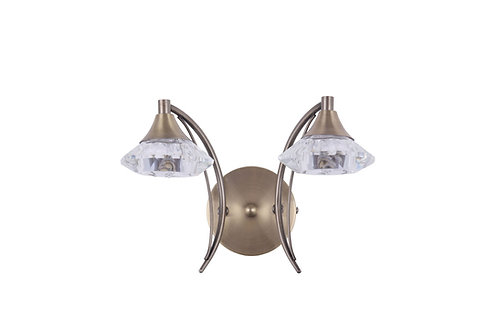PANDORA 2lt Wall Light