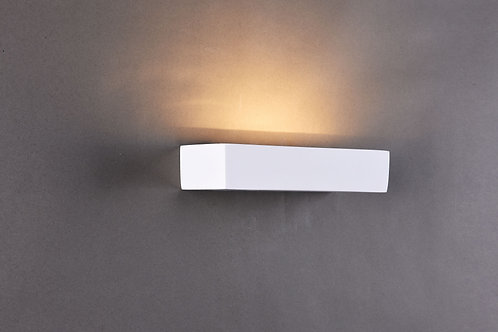 STUCCO 1lt Wall Light