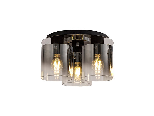 BRADLEY 3lt Flush Ceiling Light
