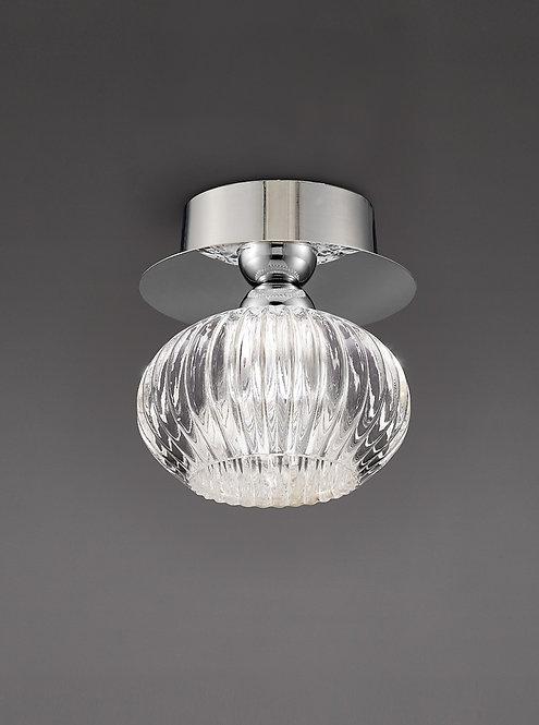 IZZY 1lt Flush Ceiling Light