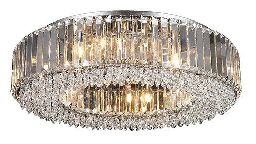 CHERISH 12lt Round Semi-Flush Ceiling Light