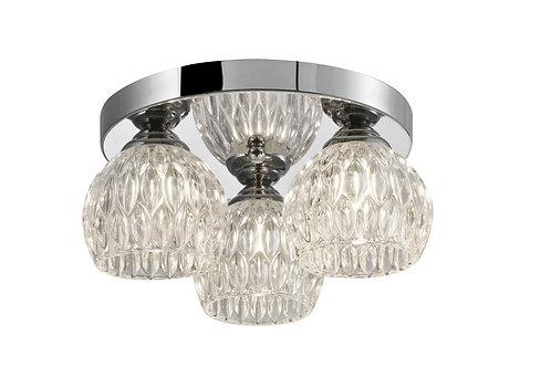 CAVE 3lt Flush Ceiling Light