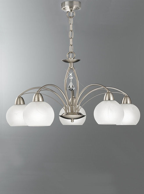 TERESA 5lt Pendant / Semi-Flush Ceiling Light