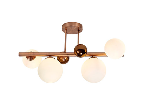 BOBBLE 4lt Semi-Flush Ceiling Light