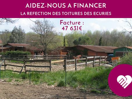 AIDEZ-NOUS A FINANCER DES RÉPARATIONS
