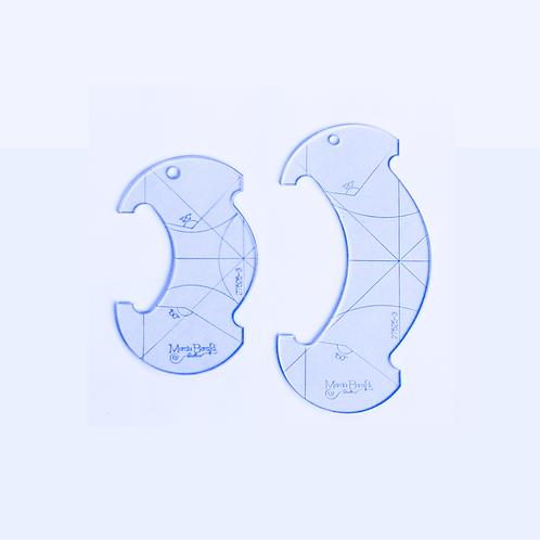 Réguas Arco (2 peças)
