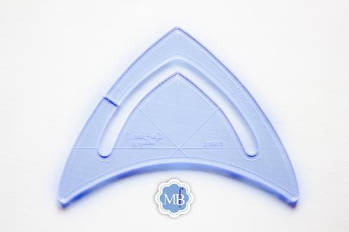 Régua Triangular
