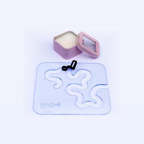 Kit Mini Labirinto + Pé de Quilting para uso com Réguas®