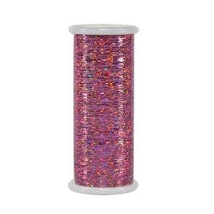 Linha Holográfica - GLITTER Superior Threads Rosa Clara 400mts