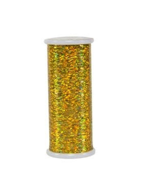 Linha Holográfica - GLITTER Superior Threads Dourada 400mts