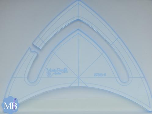Régua Triangular para Máquinas Longarm