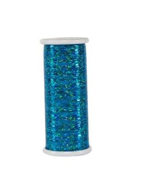 Linha Holográfica - GLITTER Superior Threads Azul 400mts