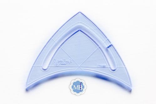 Régua - Micro Triangular
