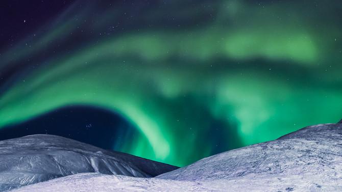 Quando la notte polare dà spettacolo…