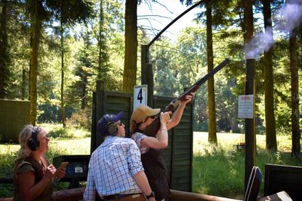 Clay Pigeon Shooting - Ian Coley Shootin