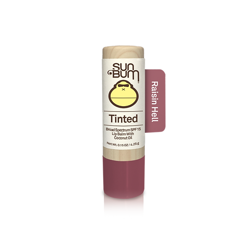 Sun Bum Tinted SPF 15 Lip Balm - Raisin Hell