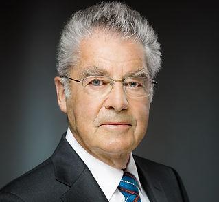 Portrait Bundespräsident aD Dr. Heinz Fi