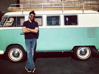Follow Jake's Love Bus!