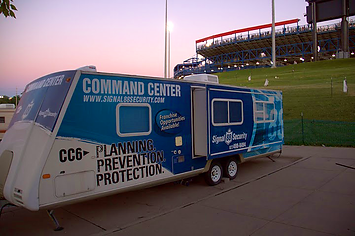 Security mobile command center