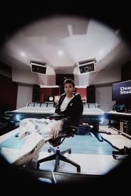 Parsley Palette in the studio