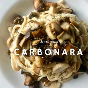 Mushroom Carbonara