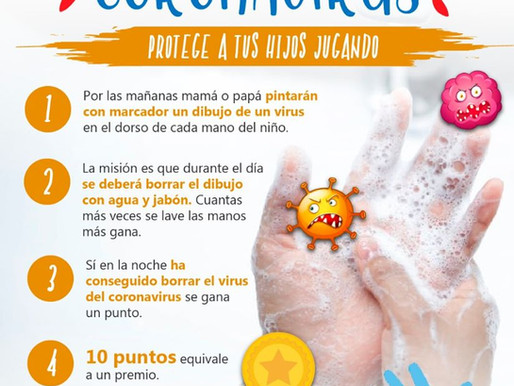 ¡Enséñeles la importancia de lavar sus manos con este divertido juego!